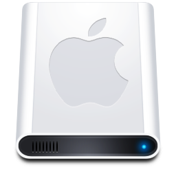 apple mobile hard drive icon