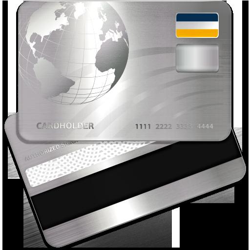 bank credit card icons