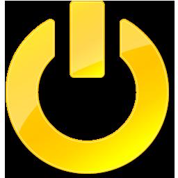 blue film button icon