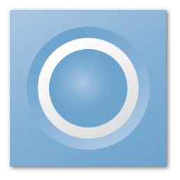 blue speaker icon
