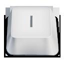 capital letter i key icon