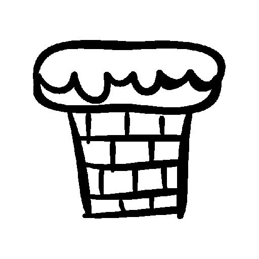 chimney christmas icons