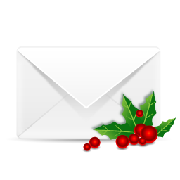 christmas email icon