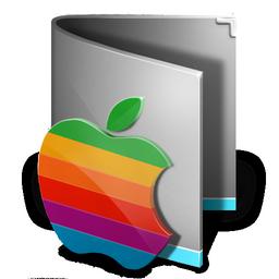 classic style mac folder icon