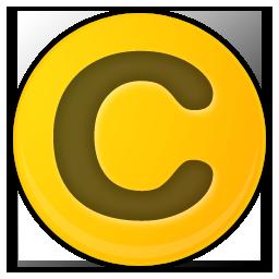 copyright of yellow flag icon