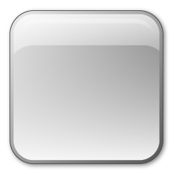 crystal icon style rectangular button