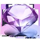diamond blue icon