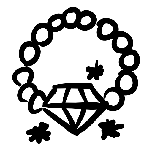 diamond necklace icon