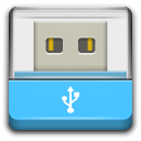 drive removable media usb icon