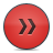 fast forward button red icon