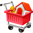 fully loaded shopping cart icon