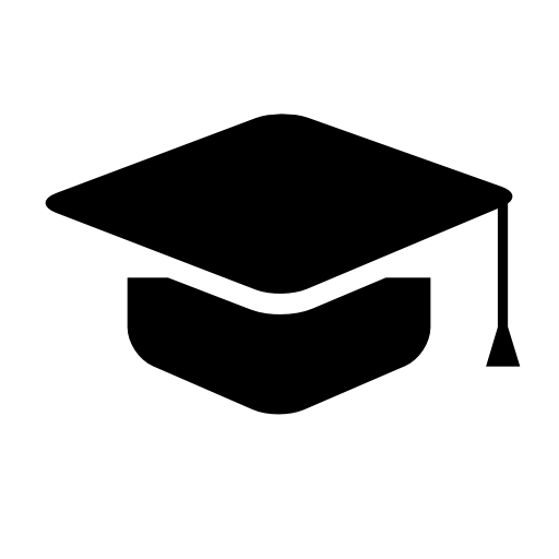 graduation cap icon – Free Icons Download