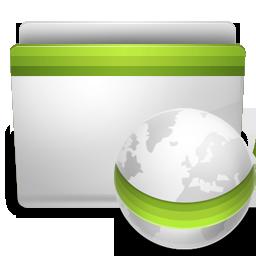 green network folder icon