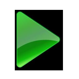 green play button icon