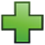 green plus sign icon