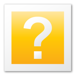 help yellow folder icon