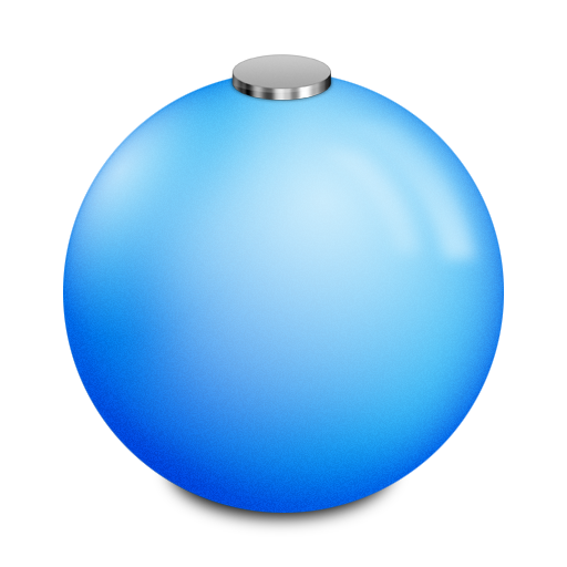 holiday decorations ball icon
