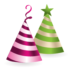 holiday hat icon