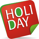 holiday note icon