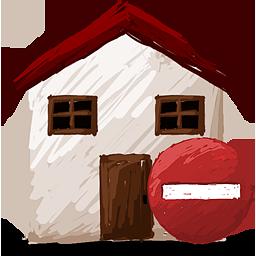 home remove icon