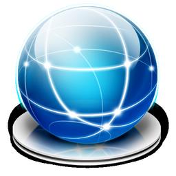 internet hard drive icon