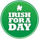 irish for ireland's green holiday icon