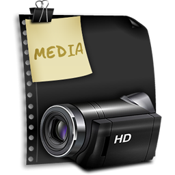 media clip files icon
