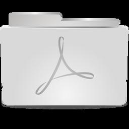 metal pdf folder icon