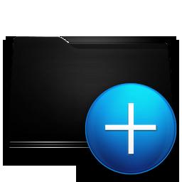 new black folder icons