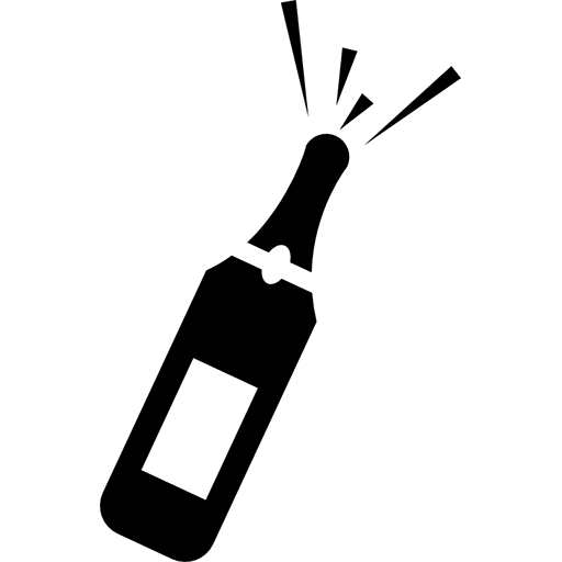 open champagne icon