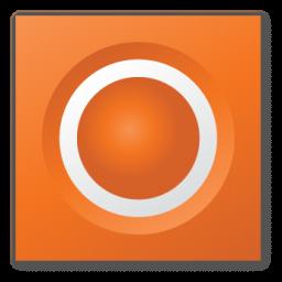 orange speaker icon