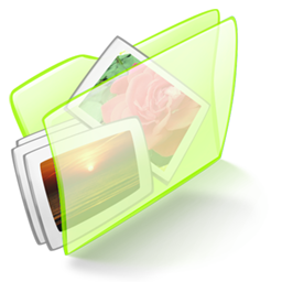 picture of green folder icon