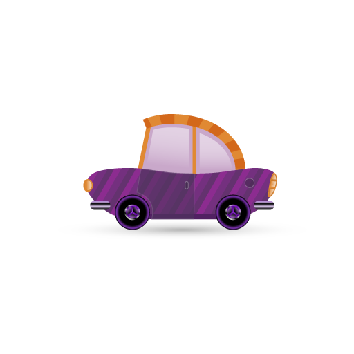 purple car icon
