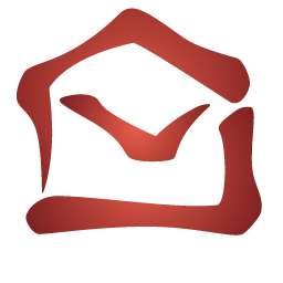 red opens envelope icon
