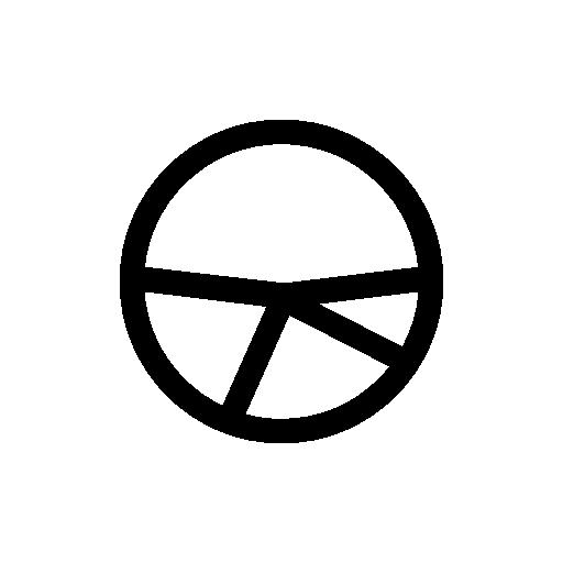 round statistics icon