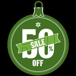 sale 0.5 off