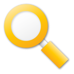 search yellow flag icon