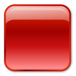 square crystal style button icon