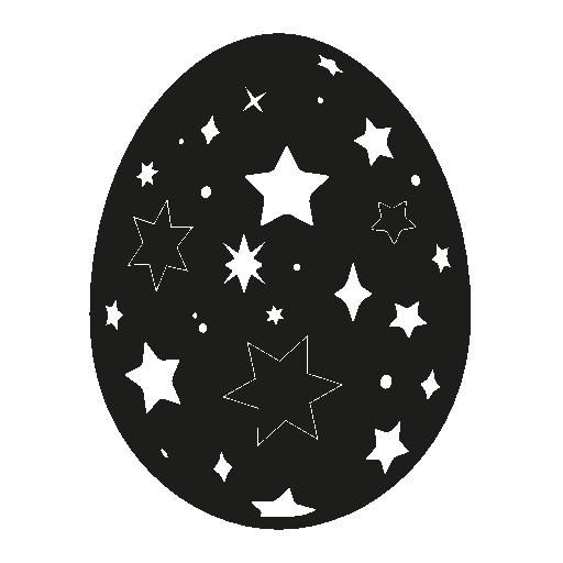 stars design easter egg