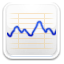 stock market trend graph icon
