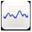stock market trend graph icon