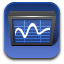 stock trend diagram icon