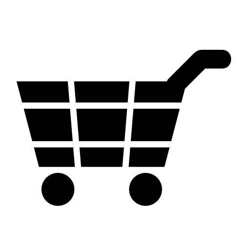 supermarket shopping cart flag icons