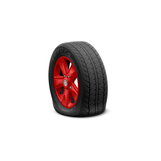 toyota car tire icon