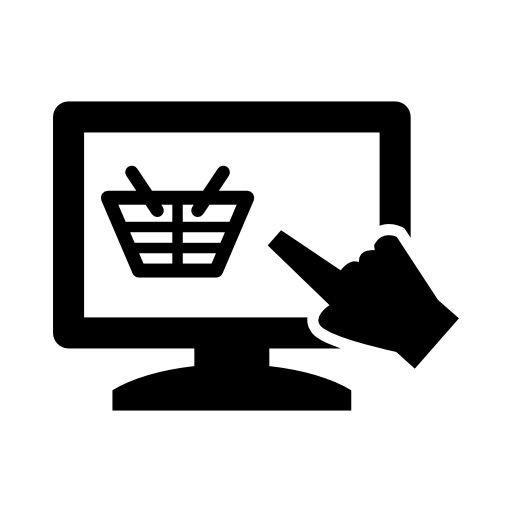 view shopping basket icon