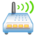 wireless router signal icon