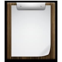 writing board clip icon