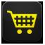 yellow shopping cart icon