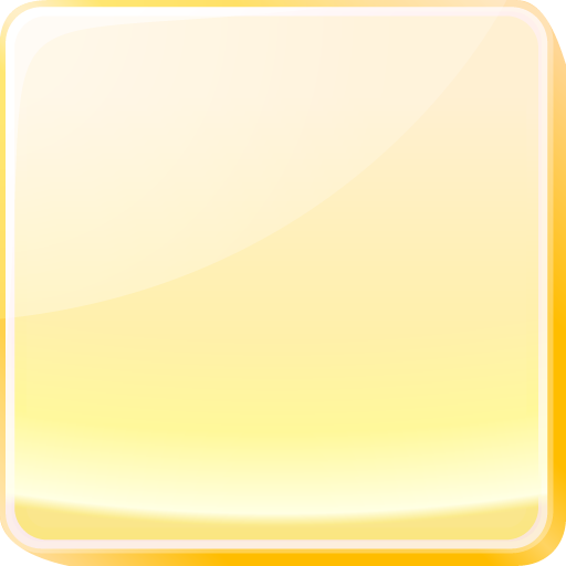 yellow square button icon