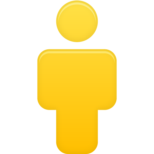 yellow user icon